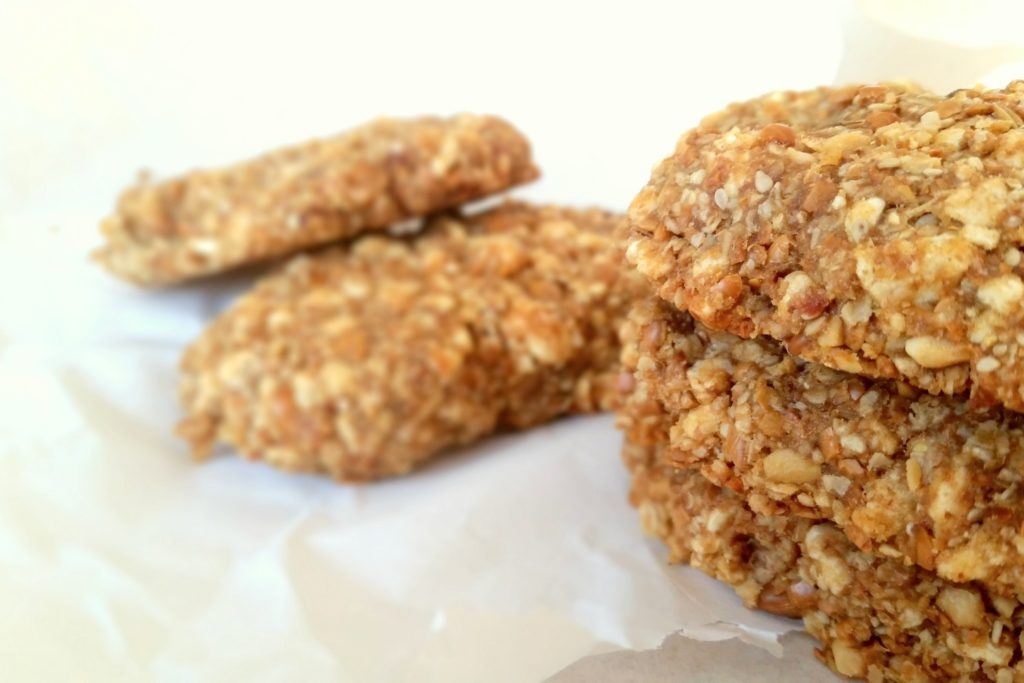 Crunchy Peanut Butter Clif Bars selbstgemacht
