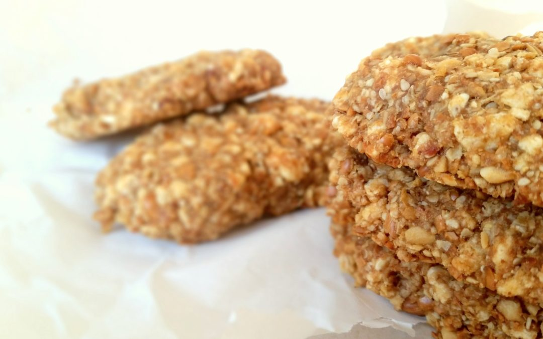 Clif Bars Crunchy Peanut Butter selbstgemacht