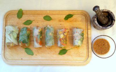 Leicht & schnell: Vegetarische Sommerrollen
